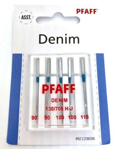 Pfaff Jeans Nähmaschinennadeln 130//705 H-J Stärke 90-110 für Pfaff Nähmaschinen
