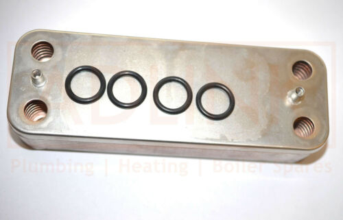 HALSTEAD ACE /& Wickes Combi 82 di acqua calda sanitaria scambiatore di calore 450997