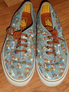 a04132c5a48140 youth boy girl 3.5 ~ Disney toy story woody ~ Vans shoes EUC