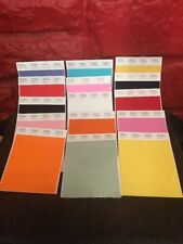 Lot Of 15 Pantone Smart Cotton Swatches Uncut Pink Blue Orange Black More O2