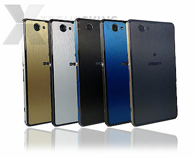 Brushed Metal Skin Sticker for SONY XPERIA Z1 & Z1 COMPACT Decal Wrap Cover