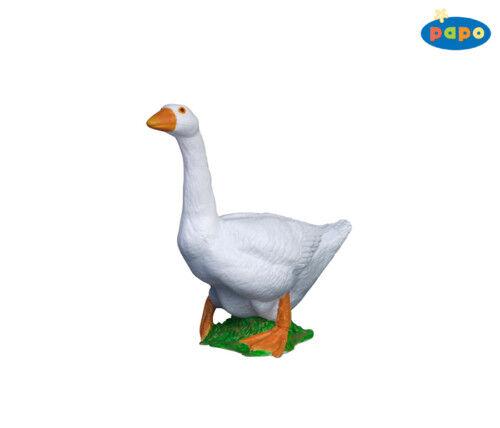 Papo 51061 Weiße Gans 7,0 cm Bauernhoftiere