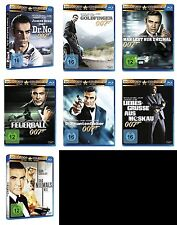 James Bond 007 SEAN CONNERY komplette Edition GOLDFINGER .. 7 BLU-RAY Collection