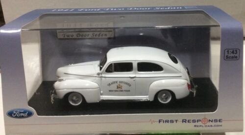 New York State Police Traffic Division 1941 Ford First Response FREE SHIPPING