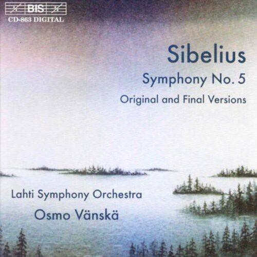 Osmo V nsk, Sibelius, J. Sibelius - Symphony 5 [New CD]