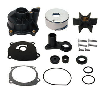 "GLM 12102 Johnson Evinrude Outboard Water Pump Kit 20/"" Shaft rep 5001594"