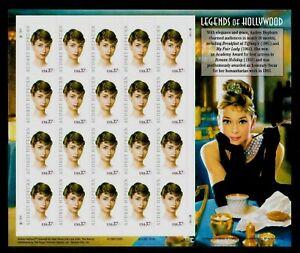 2003-US-Post-Office-AUDREY-HEPBURN-Legends-Of-Hollywood-Stamp-Sheet-20x37c-3786