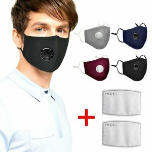 Air Washable Masks Reusable Mask Dust Pm2 Face And Anti 5 Details Pollution Respirator About