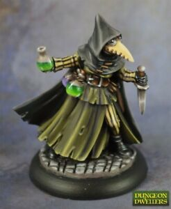 Reaper-Miniatures-07017-Sister-Hazel-Plague-Doctor-Dungeon-Dwellers