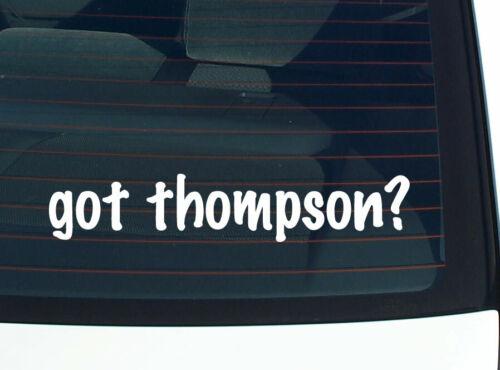 got thompson FAMILY TREE REUNION LAST NAME CAR DECAL BUMPER STICKER WALL