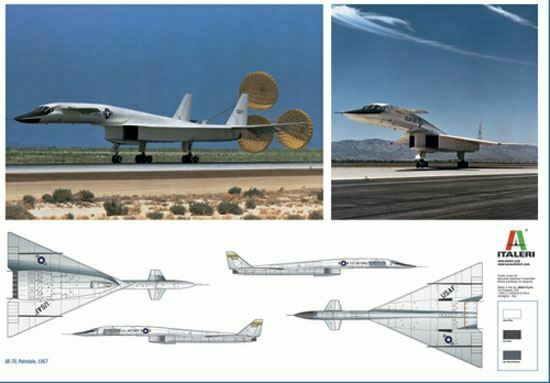 Italeri 172 XB70 Valkyrie USAF Aereo 1282