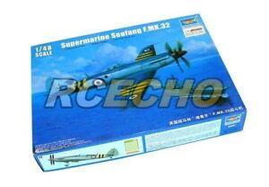 TRUMPETER-Aircraft-Model-1-48-Supermarine-Spiteful-F-MK-32-Fighter-02851-P2851