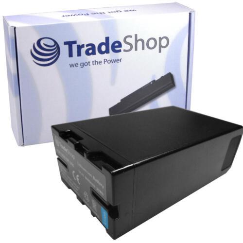 Batería 6600mah para Sony bp-u65 bp-u95 pmw-ex1 pmw-ex3 pmw-f3 con chip info