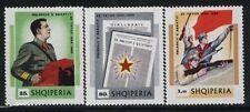 Albania MNH Sc 1255-57 Mi 1383-85 Enver Hoxha