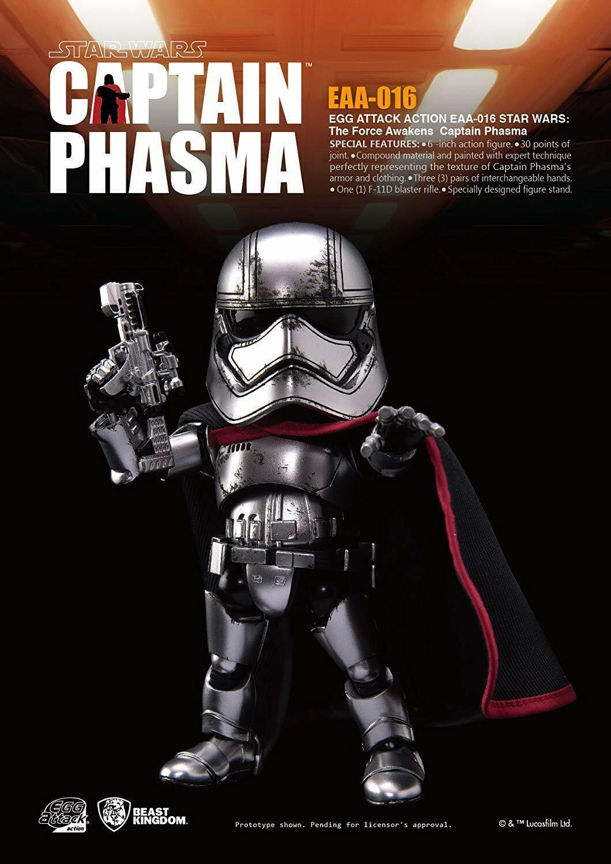 Acción de ataque Bestia Reino de huevo EAA-016 capitán phasma Figura De Acción