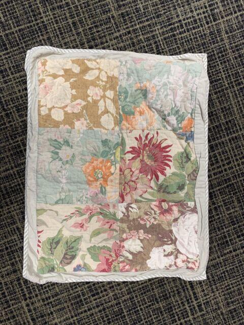 Pottery Barn Carolina Floral Patchwork Reversible Sham Standard Multi For Sale Online Ebay