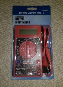 CENTECH 7 Function Digital Multimeter 69096 / 98025