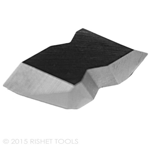 10 PCS RISHET TOOLS NT-3L C5 Uncoated Carbide Inserts
