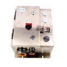 Eaton Nema Magnetic Motor Starter 4 20a 120vac Nema 4x Size 0 Ecn0504aaa R63c