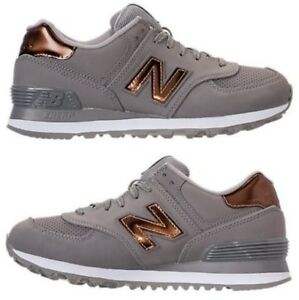 New Balance 574 sneakers metallic bronze