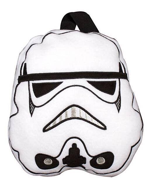 Officiel Star Wars Voyage Head Couverture Stormtrooper Head Voyage avec poignées de transport 7f5086
