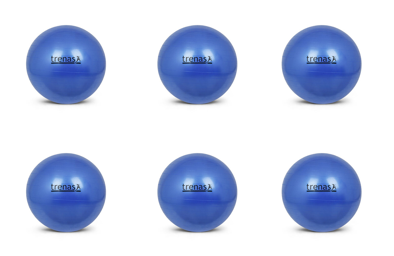 Trenas - Set 6 x - Gym Ball - - - Exercise Ball - Anti-Burst Equipment Swiss Fitness 731c32