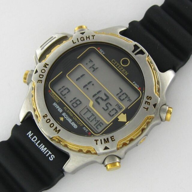 vintage dive watches collection on ebay rh ebay com Citizen Hyper Aqualand Promaster citizen eco-drive aqualand dive watch manual