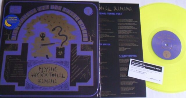 Lp King Gizzard & The Lizard Wizard Flying Microtonal Banana - Ato Rec. FLT-028
