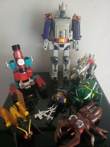 Galvatron Vintage lot delux inseceticons perceptor dinobot. 80s