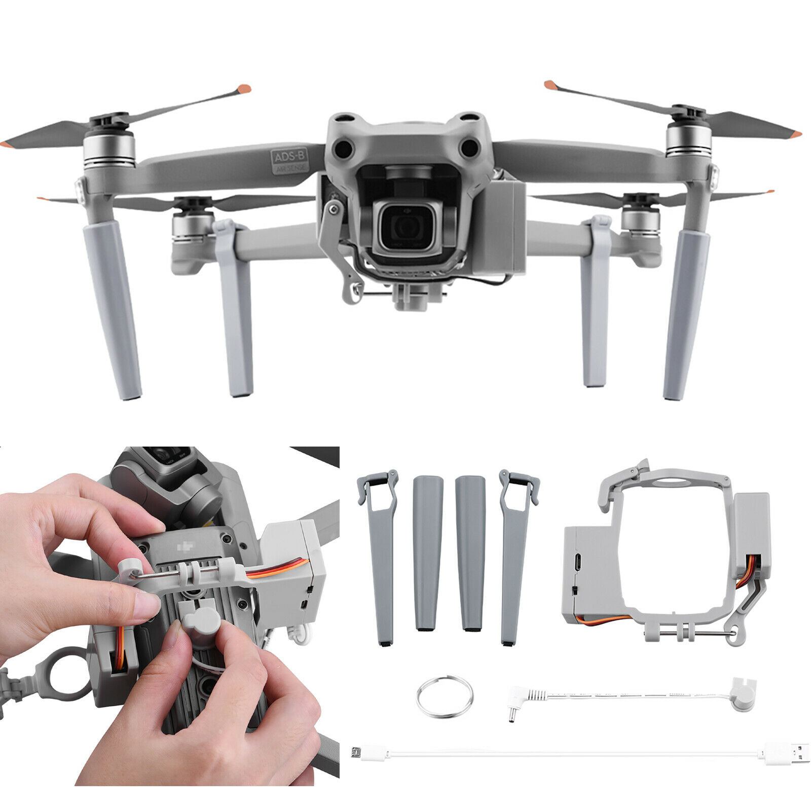 Airdrop System for DJI Mavic AIR 2 Drone Gift Deliver Throw Thrower Accessories