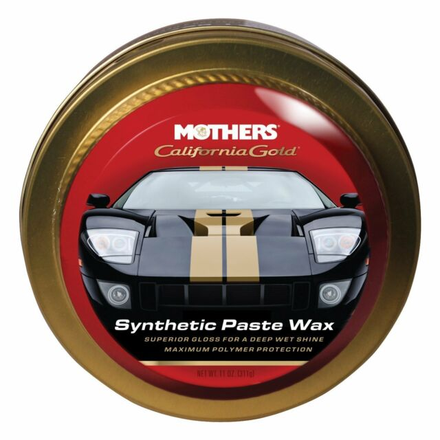 Mothers California Gold Synthetic Paste Wax Brand New
