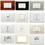 miniatura 1 - PLACCHE Placchette Bticino Living International Vimar Legrand Light Compatibili