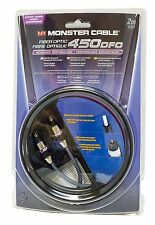 Monster Cable 450DFO Digital Fiber Optic Audio Cable - 2 Meter (6.5 Ft)