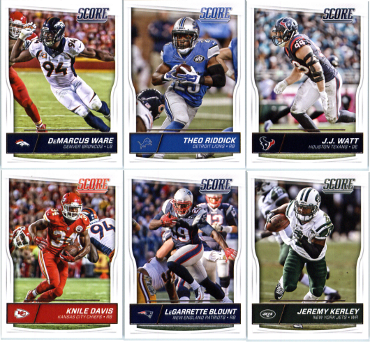 c8c4c74d 2016 Panini Score NFL Football - Base Set Cards - Pick From Card #'s 1-330