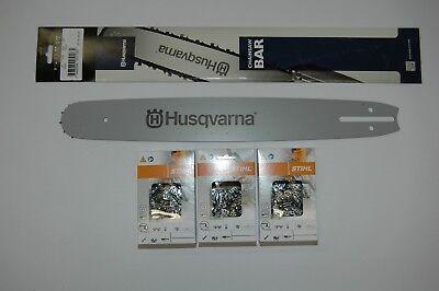 """Schwert passend für Husqvarna 575 XP 45 cm 3//8/"""" 68 TG 1,5mm Führungsschiene bar"""