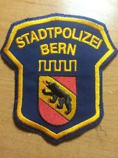 PATCH POLICE SWISS SWITZERLAND ( canton BERN ) ORIGINAL!