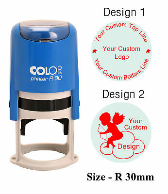 ADVERTISEMENT Colop Self Inking Custom Office Use Custom Rubber Stamp