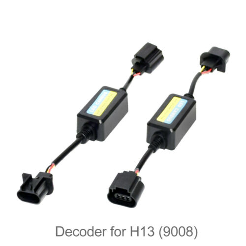 Anti Flickering Resistor Decoders Warning Canceller For LED Headlight H13 9008