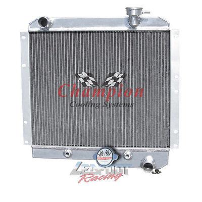 3 Row 1958-1984 Toyota Land Cruiser FJ40 Champion All Aluminum Radiator