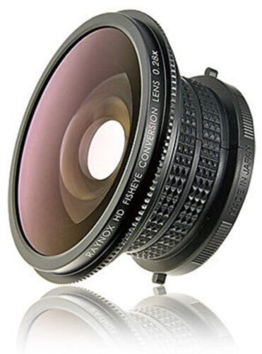 RAYNOX HDP-2800ES 28x Fisheye Lens 4 Panasonic HDC-SD1/DX1/AG-HSC1U/AG-HCK10G