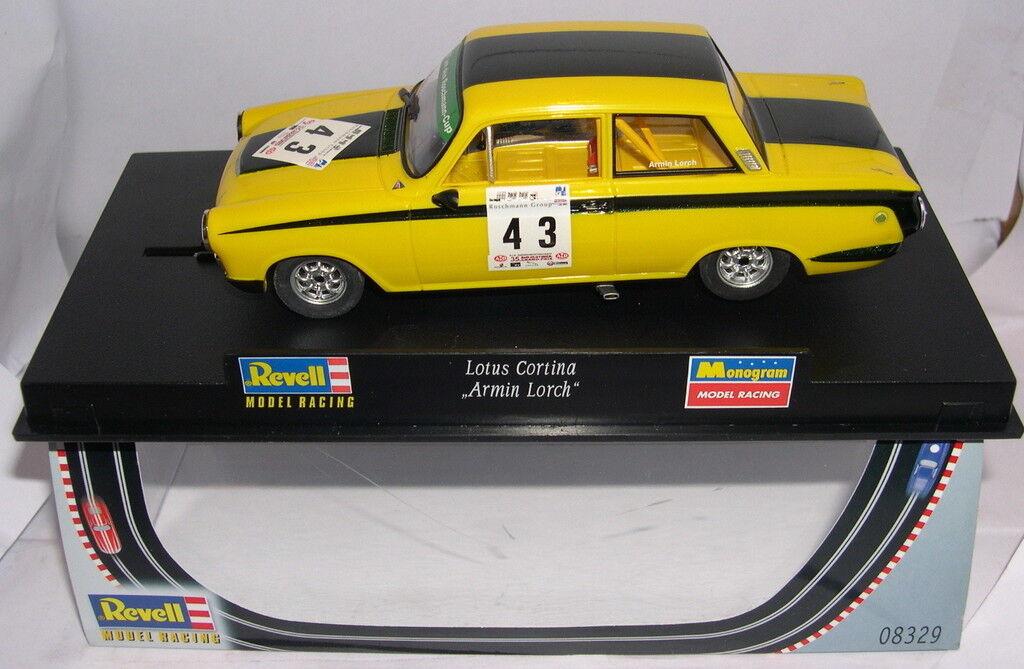 REVELL 08329 SLOT CAR FORD LOTUS CORTINA CORTINA CORTINA 43 ARMIN LORCH MB 785e23