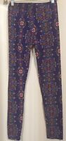 Women's Leggings Purple Multi Colored By Mix Size :one Size
