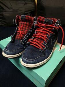 purchase cheap ae836 fae86 Details about Nike DUNK HIGH PREMIUM SB Dark Obsidian Lumberjack Men's Shoes