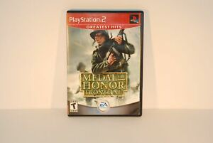 Authentic Sony Playstation 2 PS2 Game: EA Games Medal of Honor Frontline