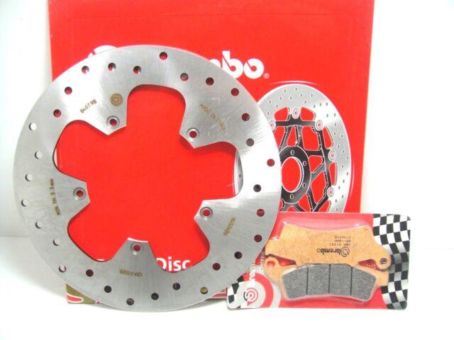 07045XS Set Disco Freno Brembo Delanteros + Pastillas Aprilia Atlantic 250 2004