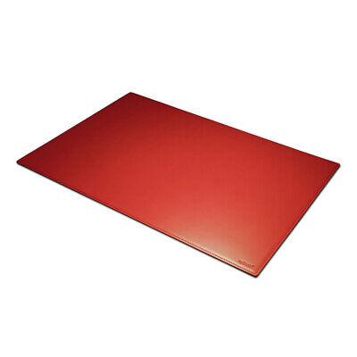 cm 80x50 Mousepad xxl gestickte Nähte Schreibtischunterlage Leder Schwarz