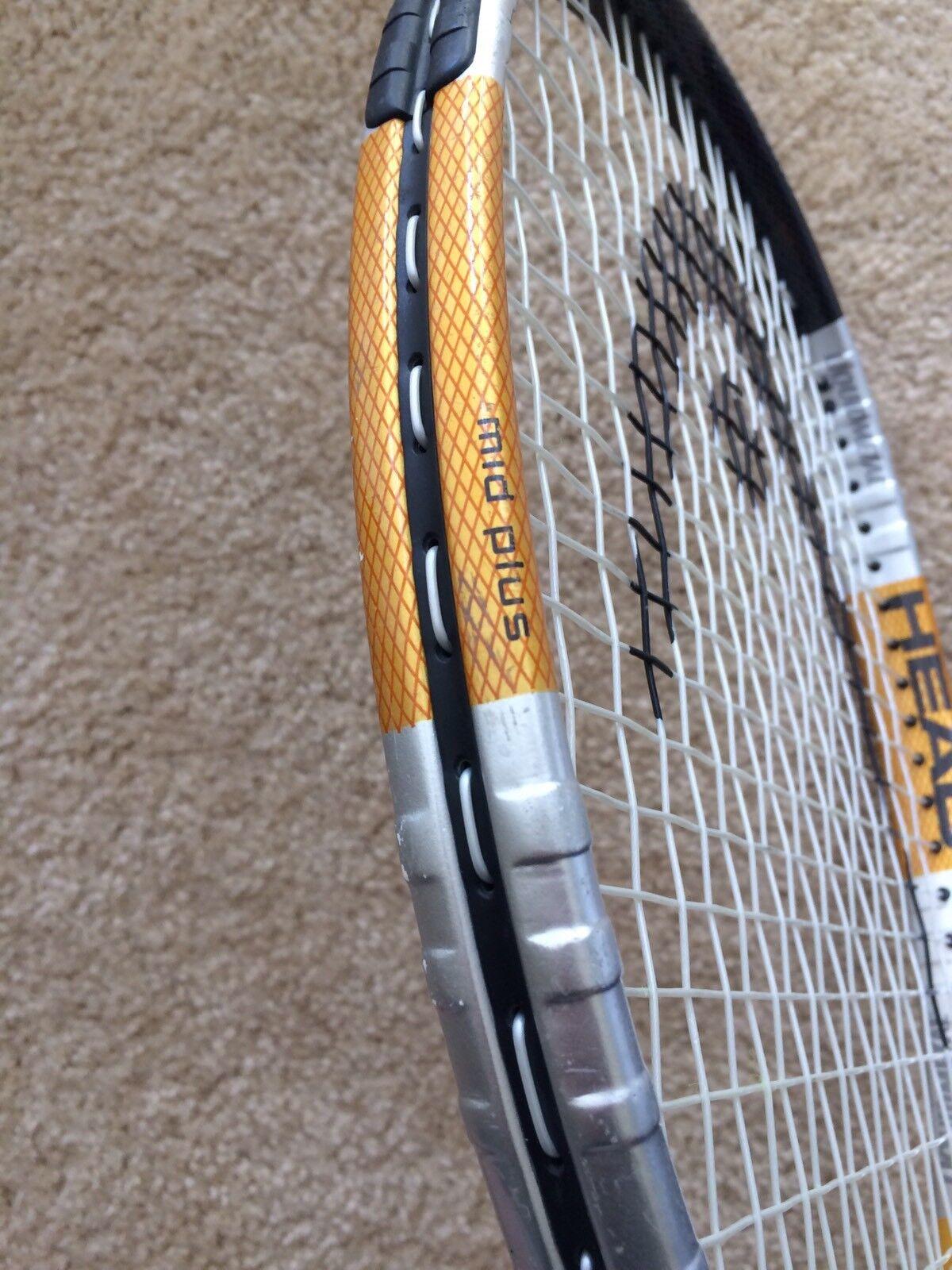 Head Liquidmetal Instinct Jr Mid + Plus Tennis Racquet + Mid HC 8d5f06