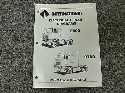 1990 international 9600 cl9670 xl 9700 truck electrical. Black Bedroom Furniture Sets. Home Design Ideas