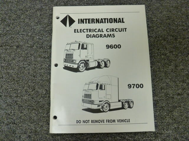 1982 Toyota Dyna Truck Service Manual Electrical Wiring