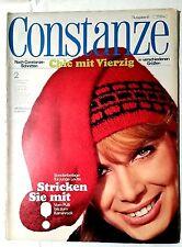 CONSTANZE Heft 2 Januar 1965 Mode Wohnen Fernsehprogramm